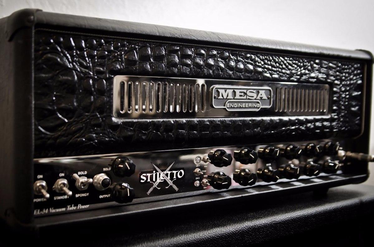 Mesa Boogie Stiletto Deuce Head Dual Rectifier unico