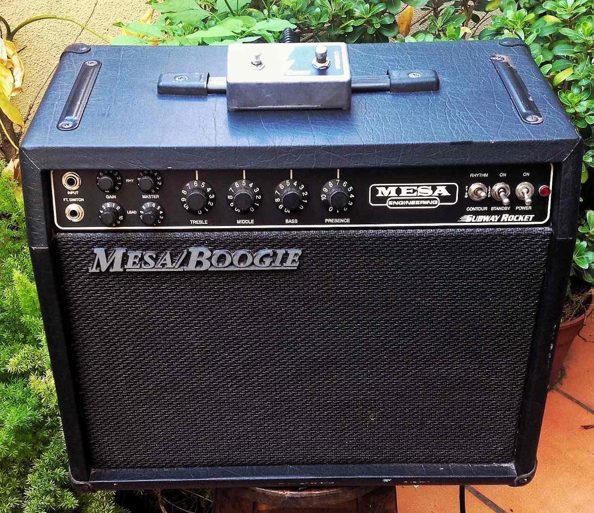 Mesa Boogie Subway Rocket   5800000 en Mercado Libre