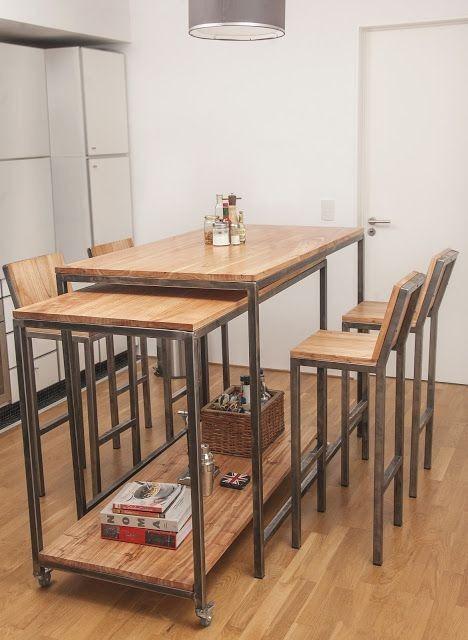Mesas Altas Cocina | Cantina Borago