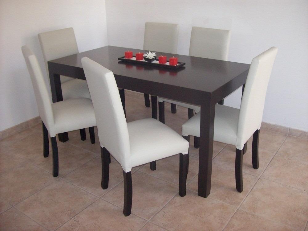 mesa de comedor laqueada negra