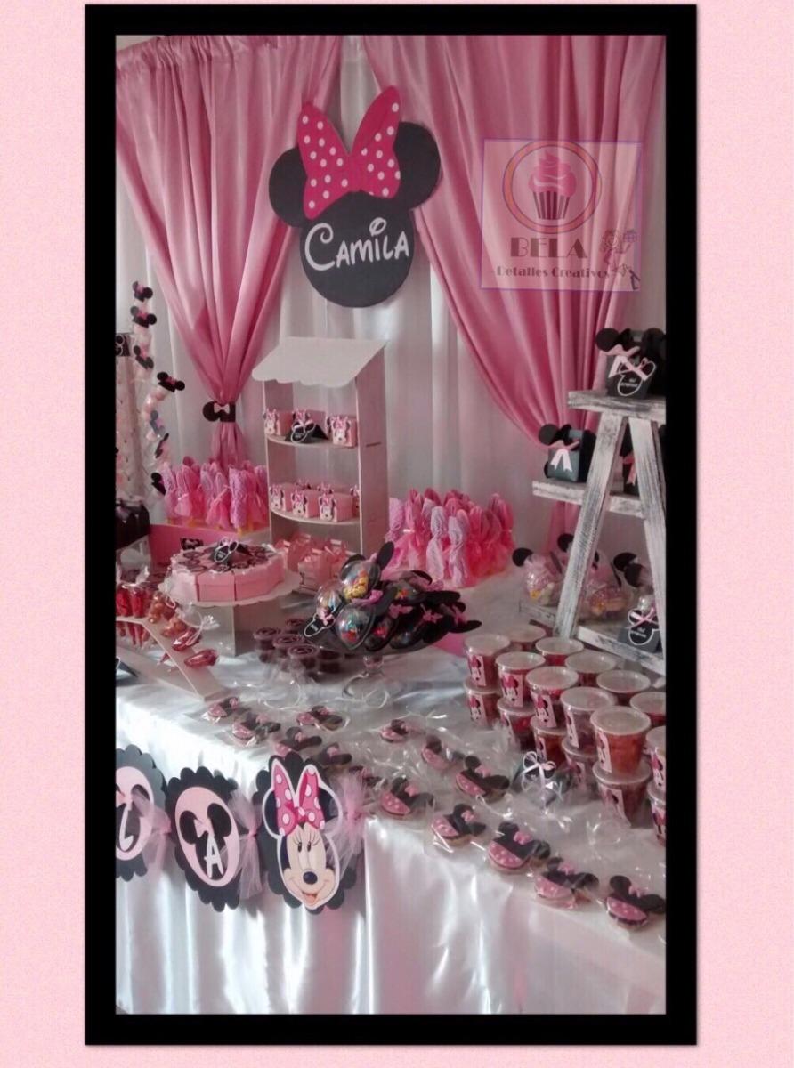 Mesa De Dulces Temticas Mimi Mickey Mousecojin   715000 en Mercado Libre