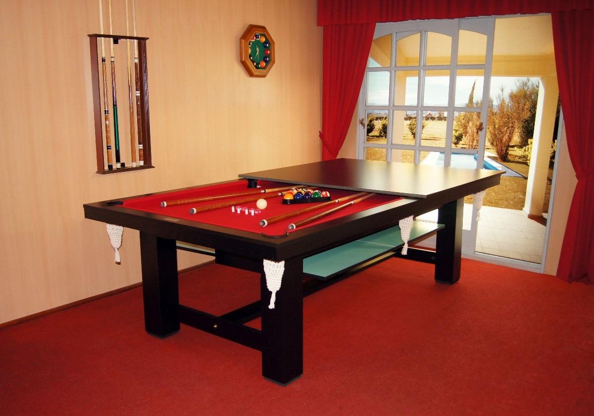 Mesa De Pool Multifuncional Vecchio Pool   3190000 en Mercado Libre