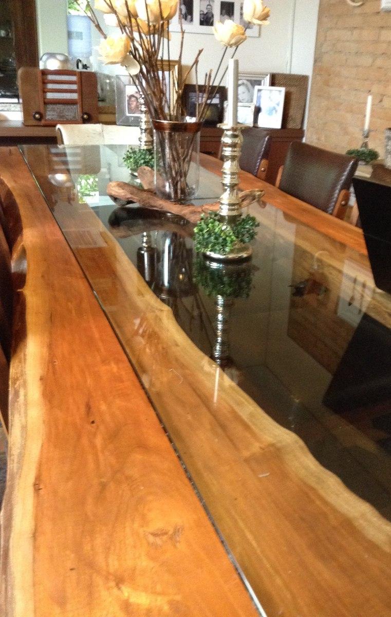 Mesa Jantar De Madeira De Design10 Lugares  Sem Vidro