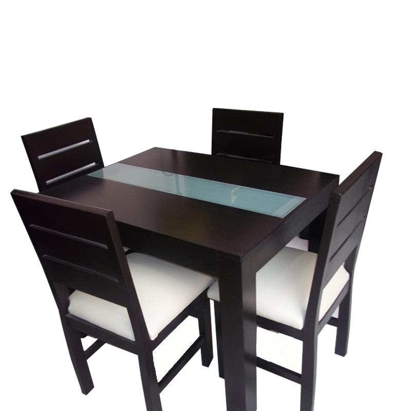 Mesa Moderna Para Cocina Y Comedor Con 4 Sillas   21150