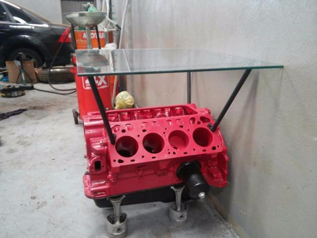 Mesa Motor V8 Decoraao  R 160000 em Mercado Livre