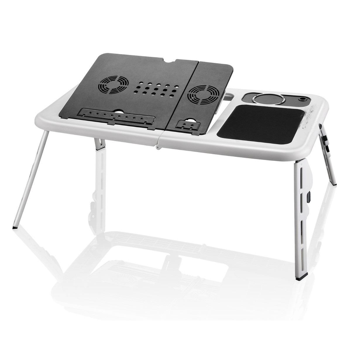 Mesa Notebook Com Cooler Dobrvel Suporte Base Mouse Copo