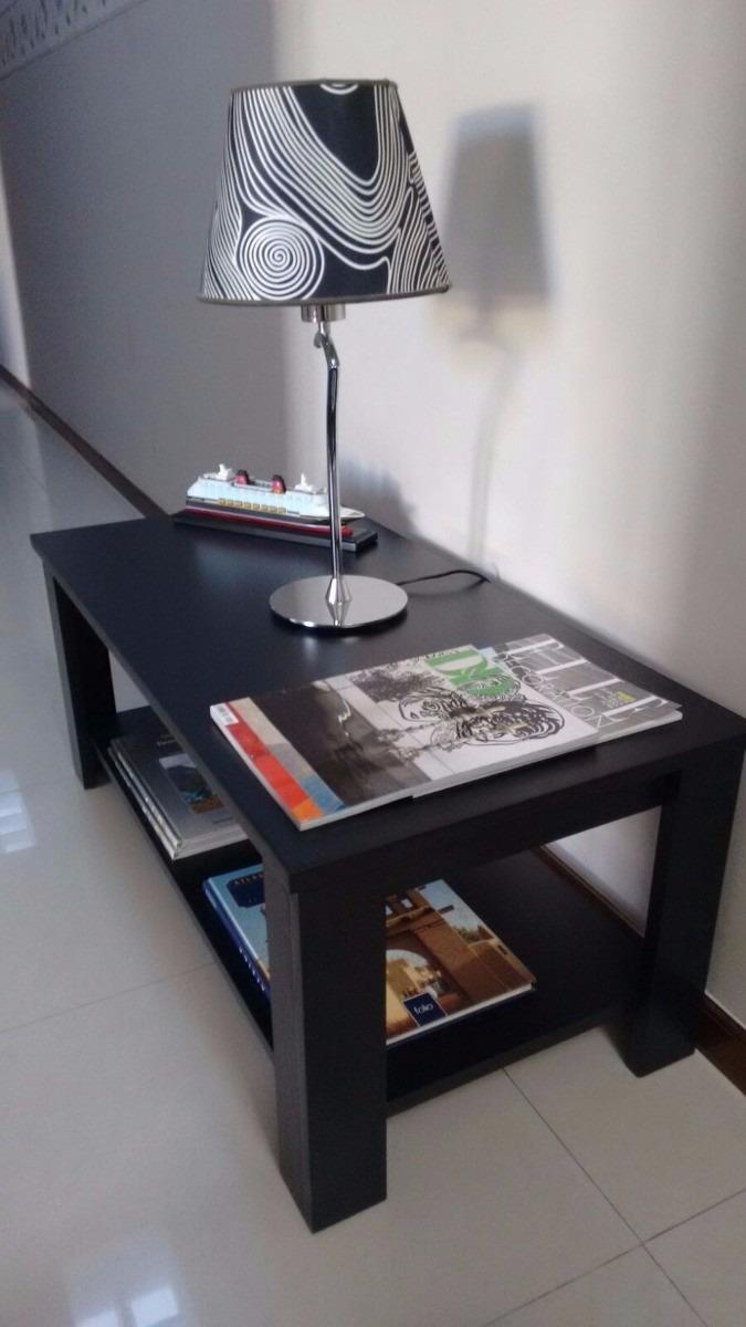 Mesa Ratona Negra O Wengue Moderna Minimalista   2399
