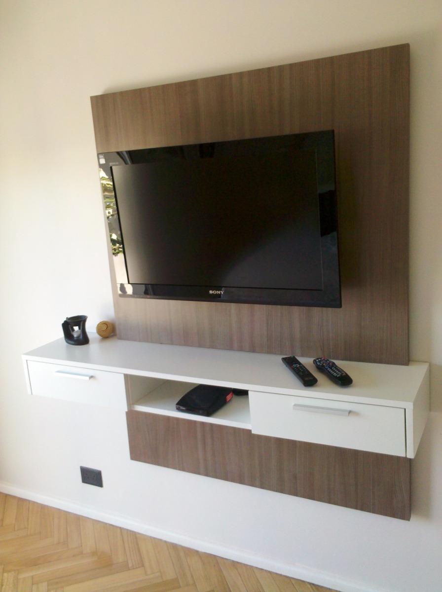 Mesa Tv Flotante  Panel Lcd Led   466900 en Mercado Libre