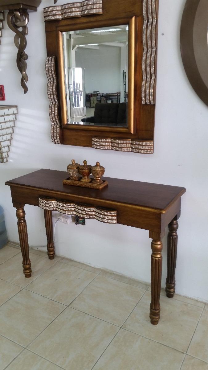Mesa Y Espejo De Sala O Peinadora  Bs 180000 en