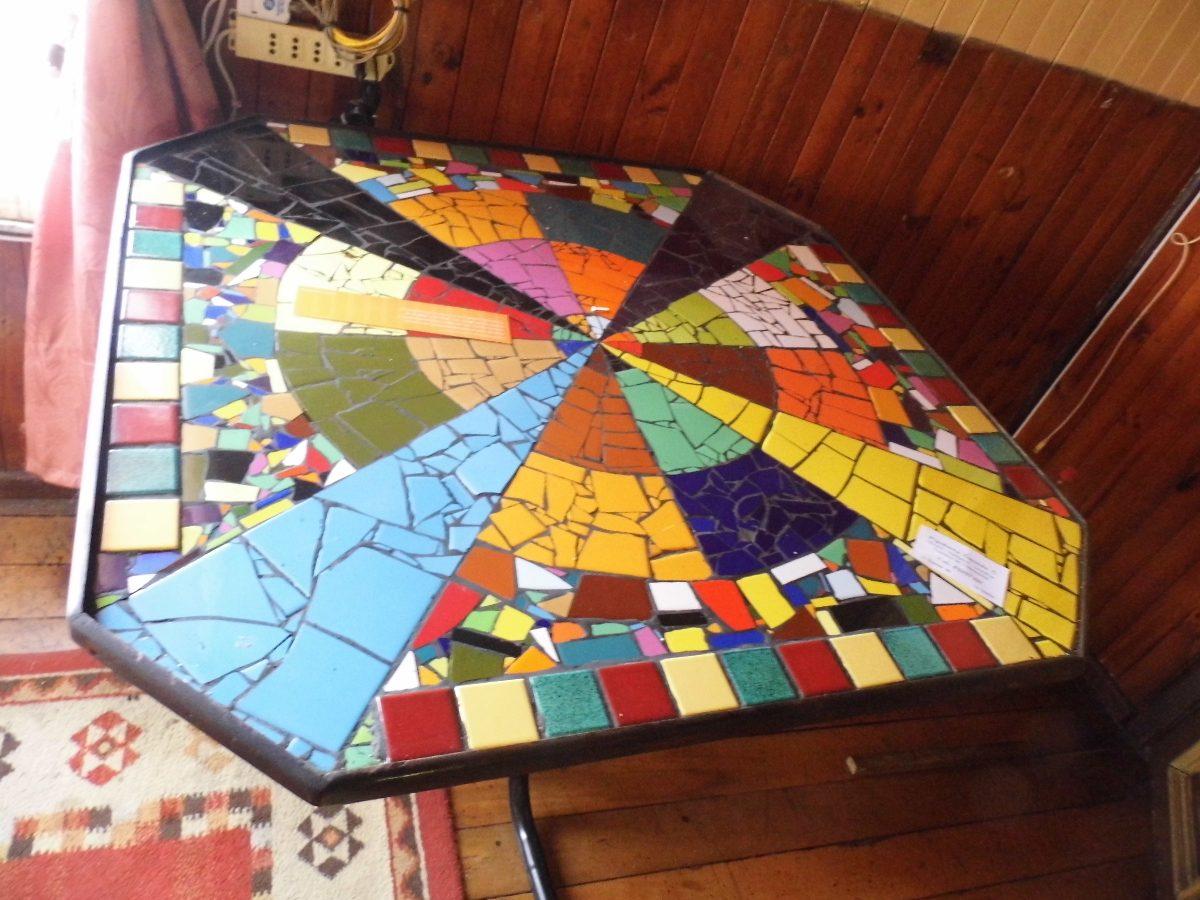 Mesas Y Espejos Con Mosaicos   40000 en Mercado Libre