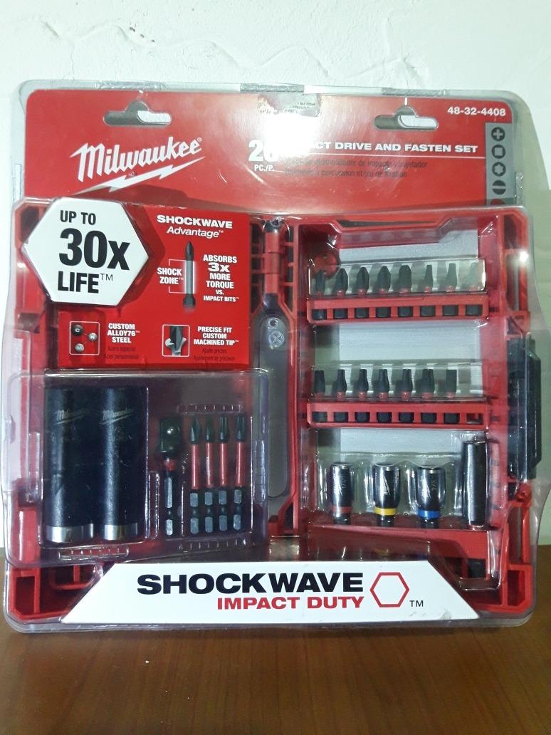 Milwaukee Shockwave Accesorios Para Atornillador De