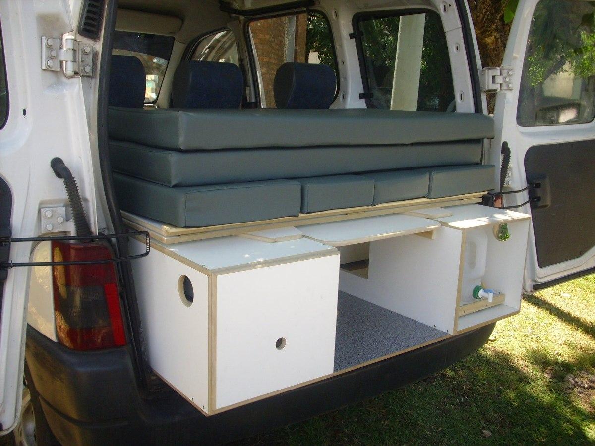 Mini Camper Para Partner Berlingo Y Kangoo   15750 en