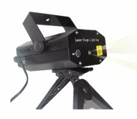 Mini Laser Stage Lighting Projetor Holografico Tripe - R ...