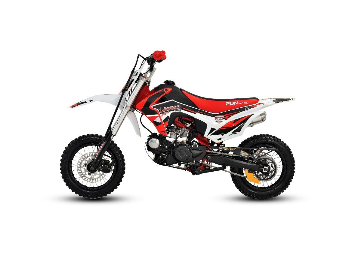 Mini Moto Cross Laminha 70 Cc 4t Partida Elétrica Fun