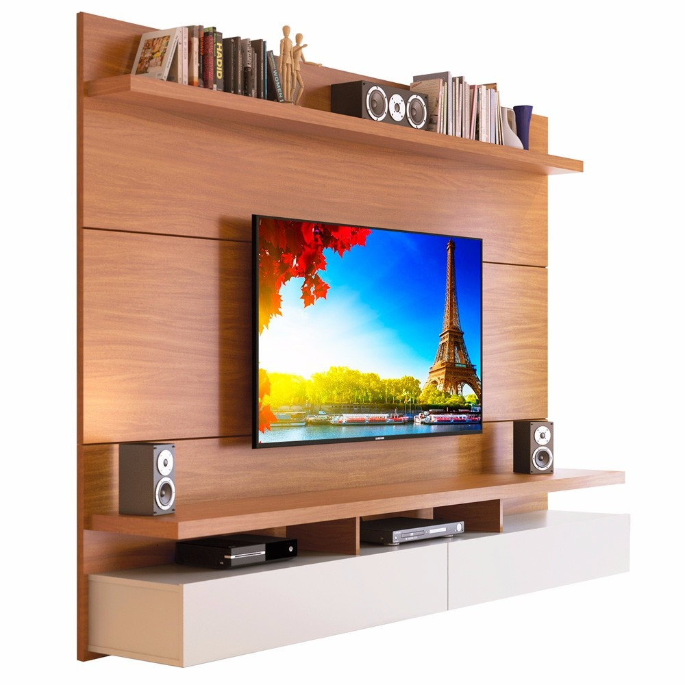 Mueble Tv Pared Modular Rack Mueble Pared 1 8 City Provincia Tv Led 60 Pulg