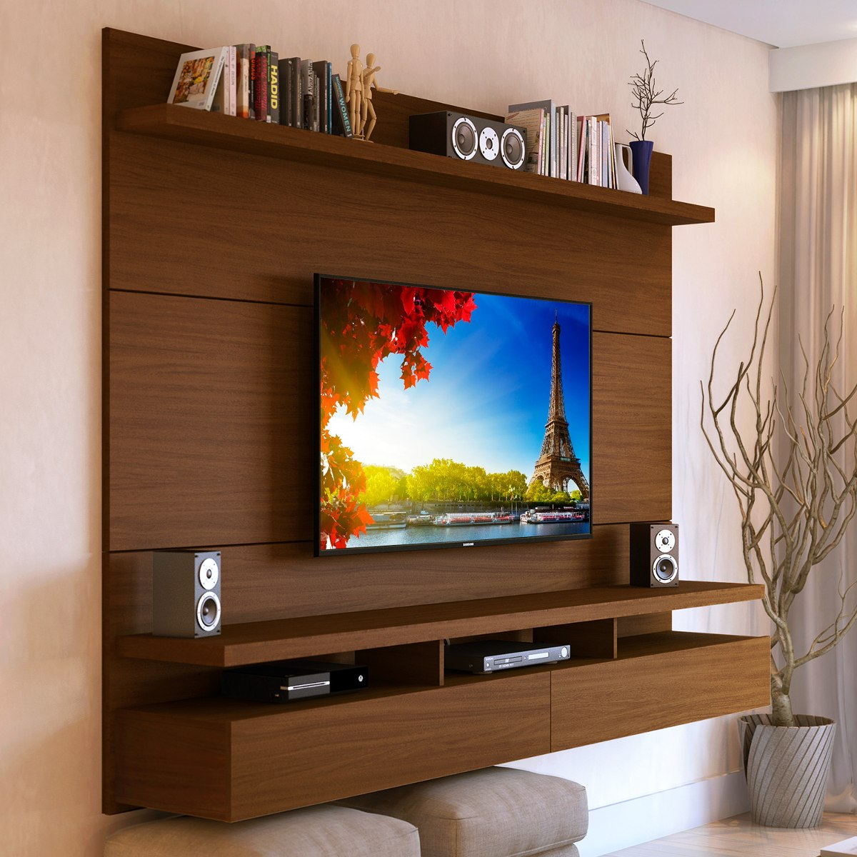 Muebles Para Tv Led Mueble Tv Pared Fabulous With Mueble Tv Pared Great