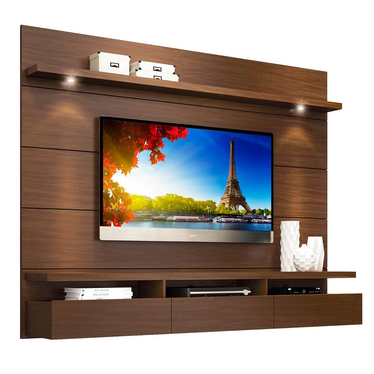 Mueble Tv Pared Modular Tv Led Lcd 60 Pulg Mueble De Pared Home 1 8 Horizon