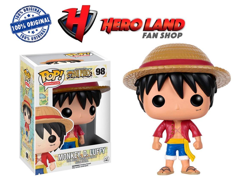 Monkey D. Luffy Funko Pop One Piece Anime Lufi Monki - $ 459.00 en Mercado Libre