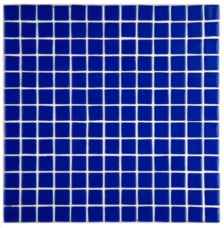 Mosaico Veneciano Para Alberca Color Azul Cobalto Oscuro