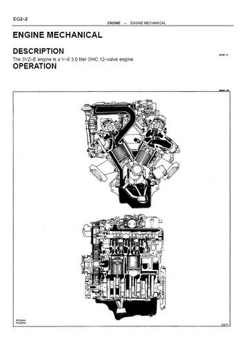 Motor 3vz-fe, Motor 22r-e Toyota Hilux 4runner Manual