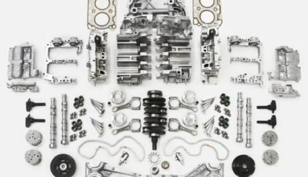 Motor Mazda 626 V6 2.5 24v En Partes Desde $500 X Pz