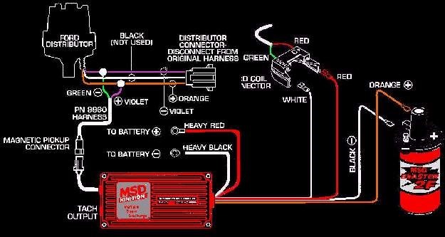 msd ignition digital 6al wiring diagram chevy hei 6 plus - bs. 4,00 en mercado libre