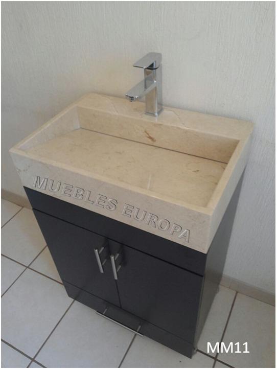 Mueble Bao Lavabo Marmol C Monomando Mangueras   6799