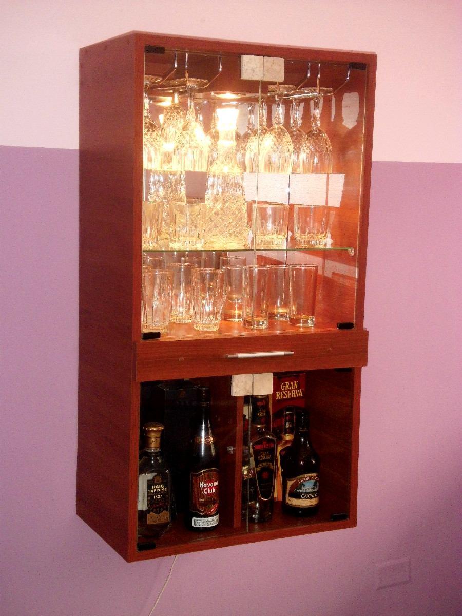 Mueble Bar De Melamina  S 29900 en Mercado Libre