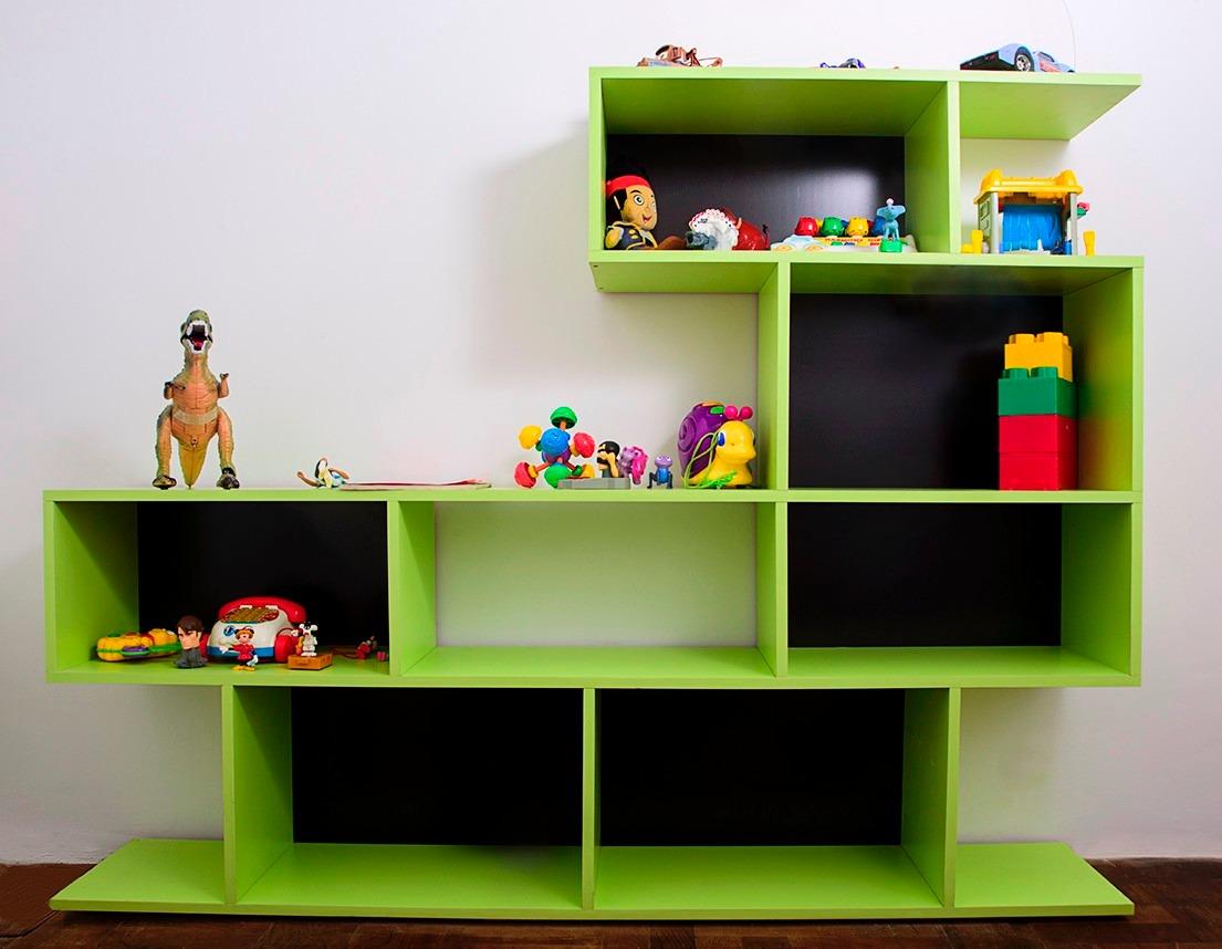 Mueble Biblioteca Para Tv Led Rack Lcd Living O Dormitorio