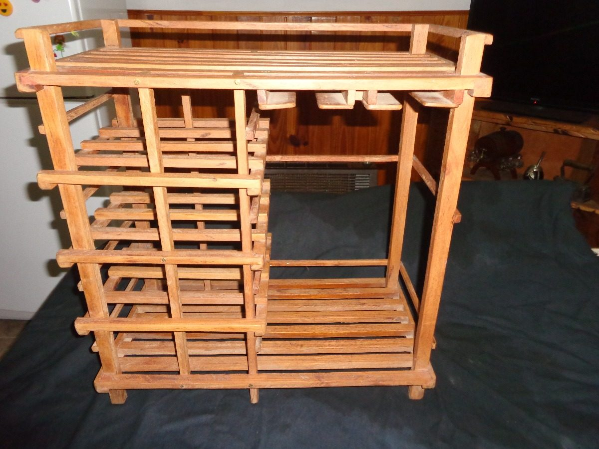 Mueble Bodega En Madera De Curupay   129360 en Mercado