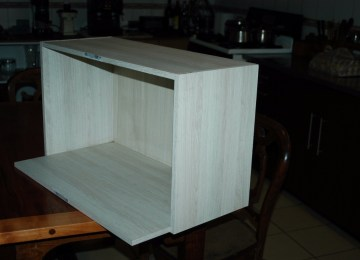Mueble Para Microondas Usado | Escritorios Y Modulos Marca Acme ...