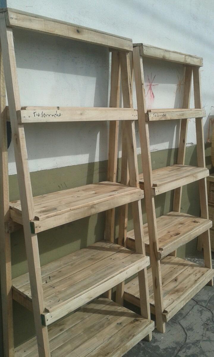Mueble De Madera Recuperada Biblioteca Estantera Repisa