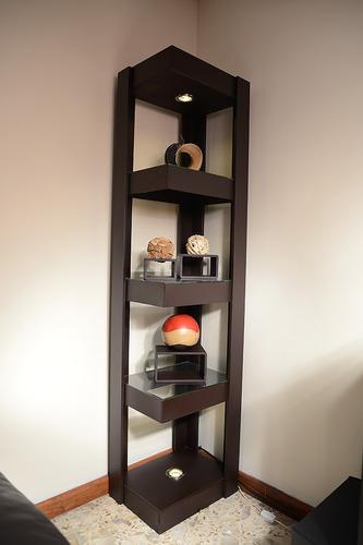 Mueble Esquinero Con Luz De Madera Mdf   149500 en