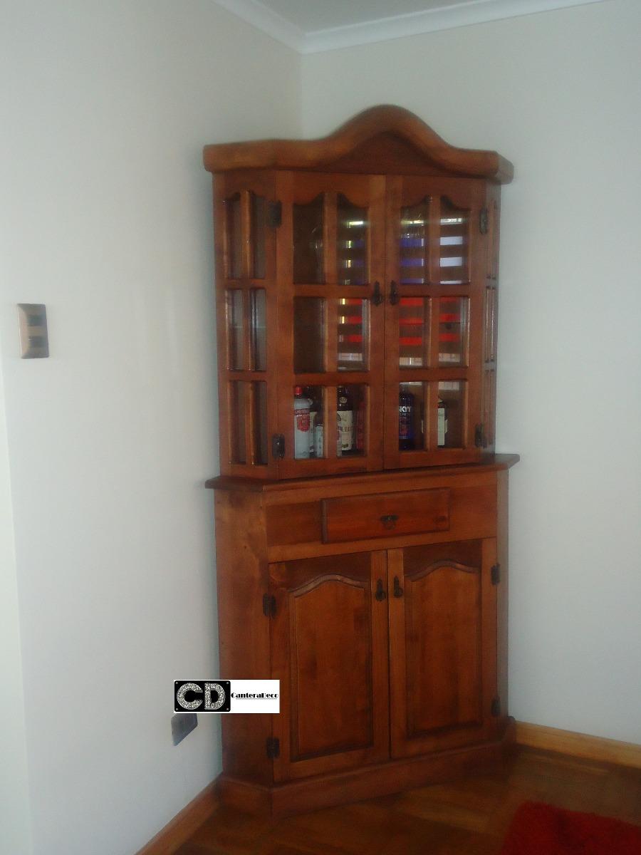Mueble Esquinero De Diseo 100 Madera Raul canteradeco