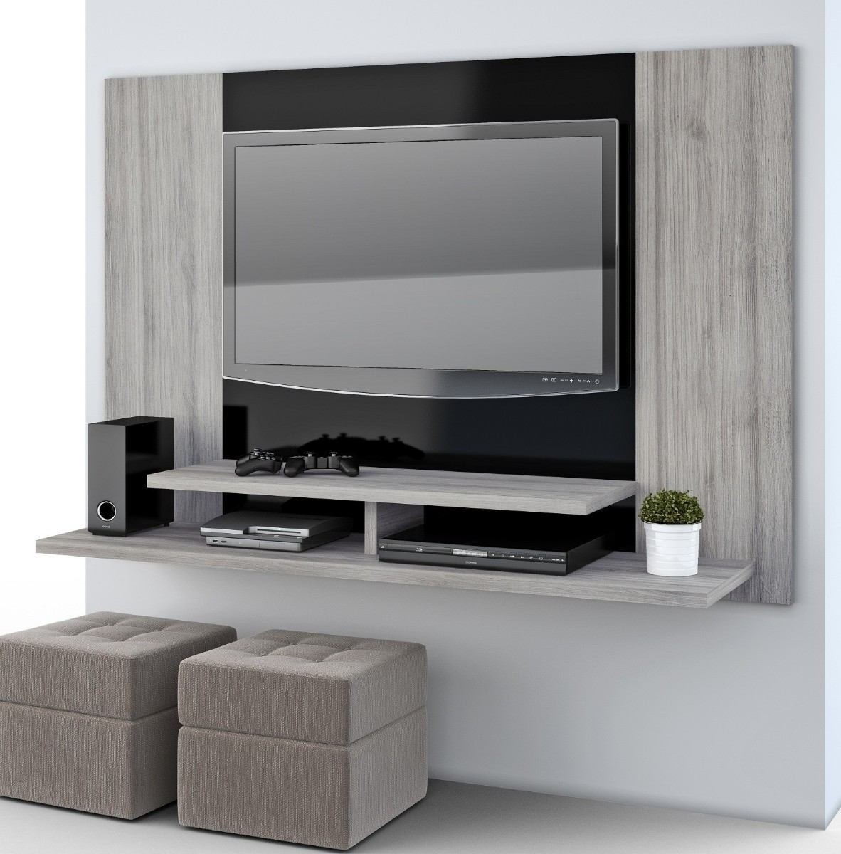 Mueble Flotante Para Tv Moderno Ref Manhatan   490000