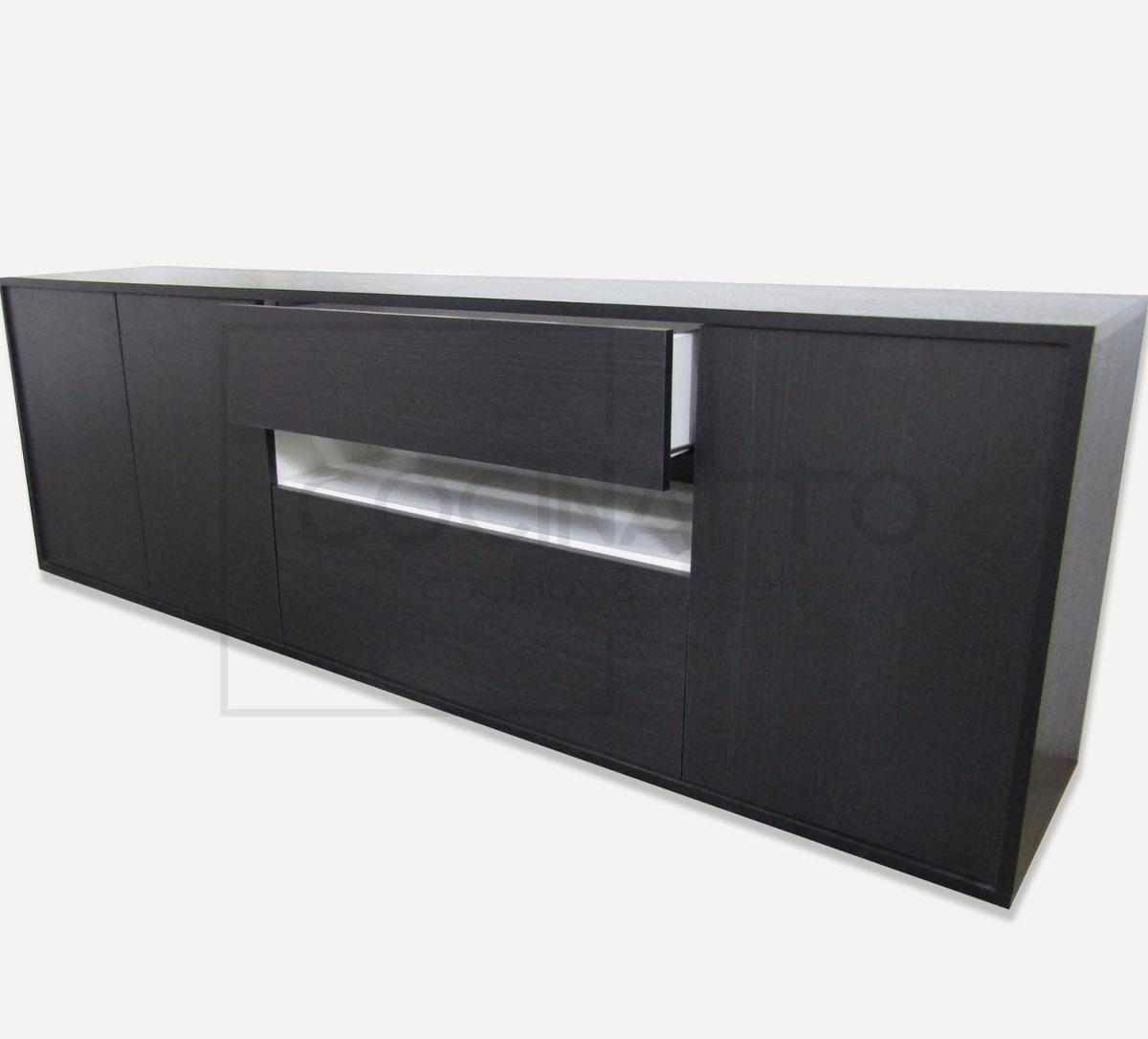 Mueble Modular Rack Led Vajillero Calidad Premium   5