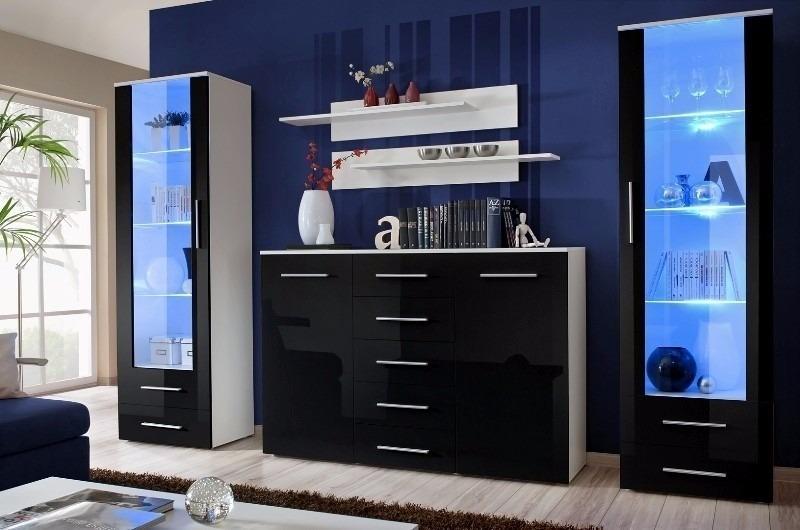 Mueble Modular Vajillero Living Comedor Modelo Combo