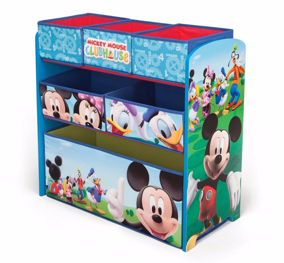 Mueble Organizador De Juguetes Para Nios De Mickey Mouse