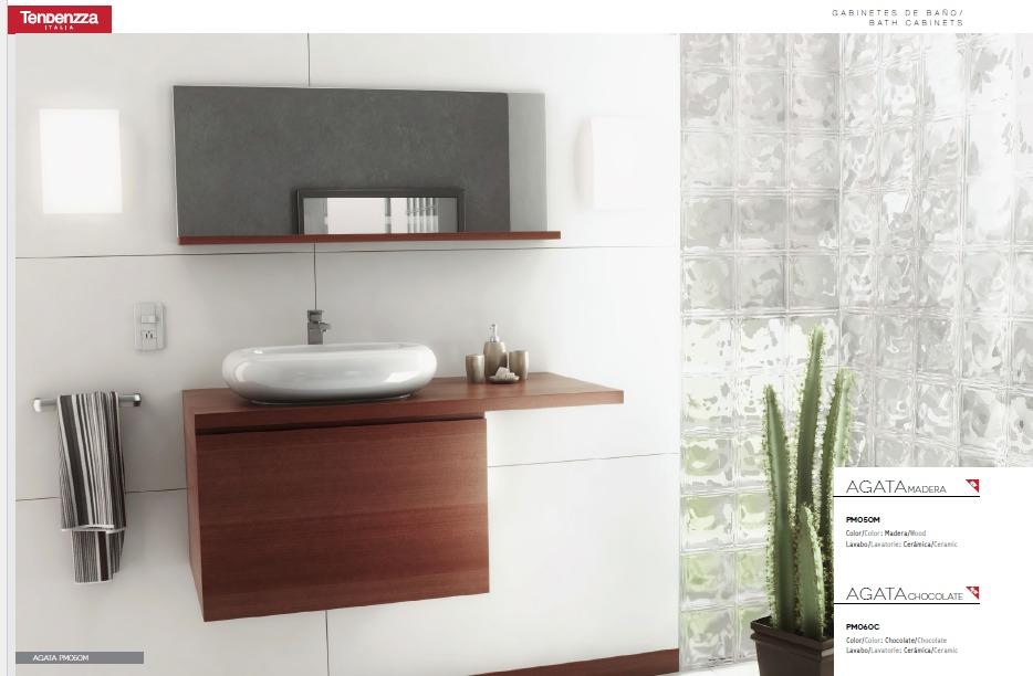 Mueble Para Bao Agata Madera Y Chocolate   649000 en