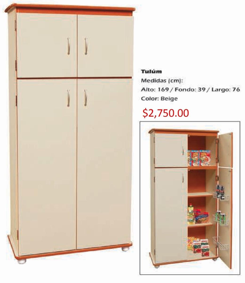 Mueble Para Cocina Modelo Tulum   275000 en Mercado Libre