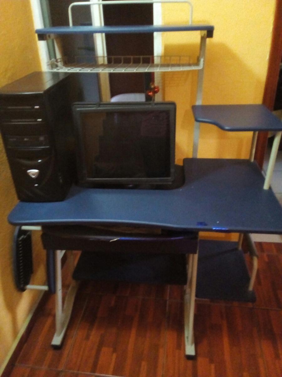 Mueble Para Computadora Con Base Para Impresora   1700