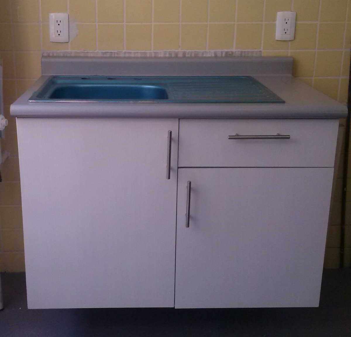 Mueble Para Fregadero Con Tarja Para Cocina Integral Vv4