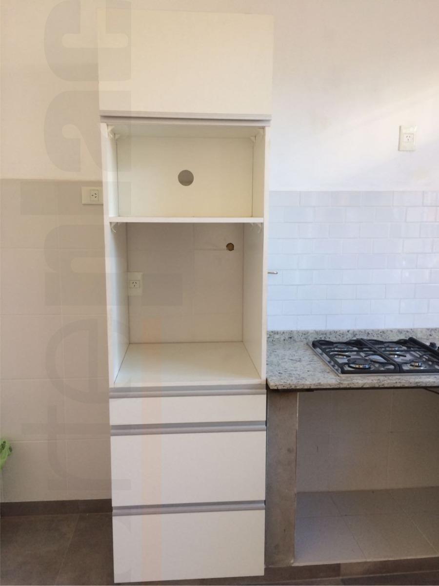 Mueble Para Horno De Empotrar Y Microondas 200x60x60 Cm