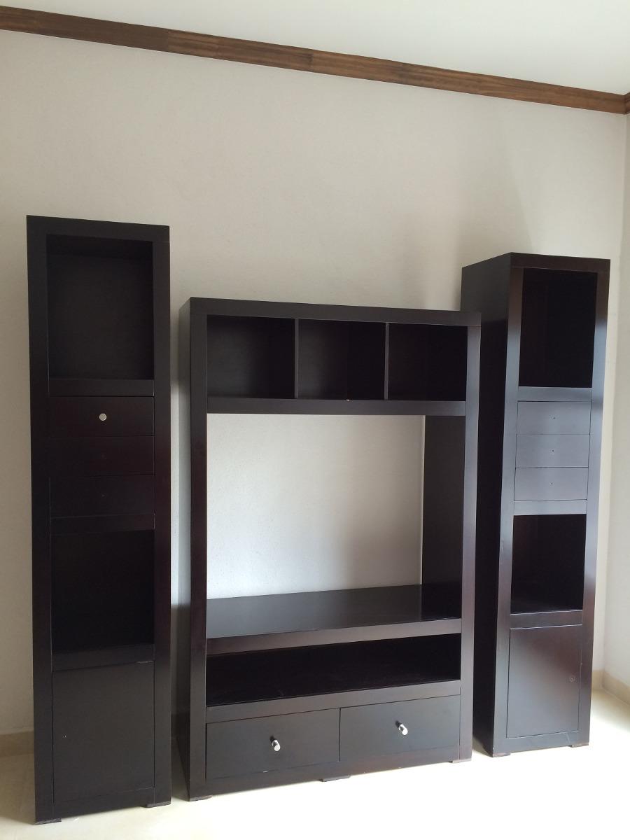 Mueble Para Televisin Y Librero   447400 en Mercado Libre