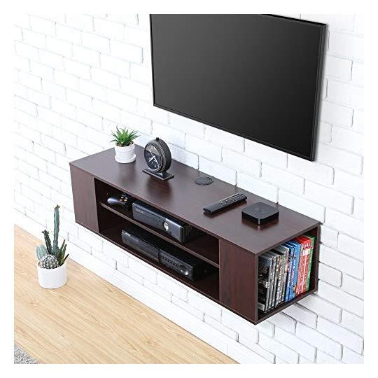 Mueble Para Tv Aud Madera Grano Mesa Flotante Fitueyes