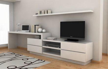 Mueble Para Tv Escritorio Mdf Revest En Formica 240 De