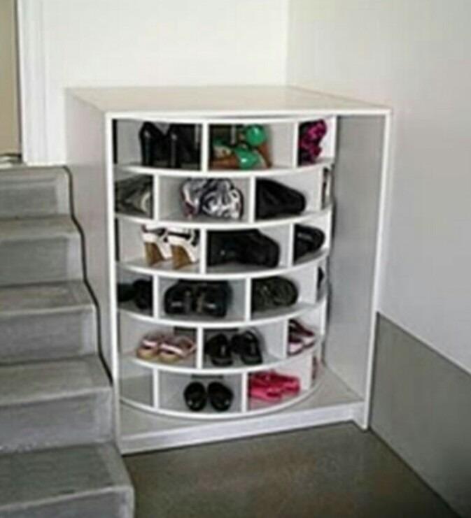 Mueble Para Zapatos Botellas Ropa Platos Giratorio