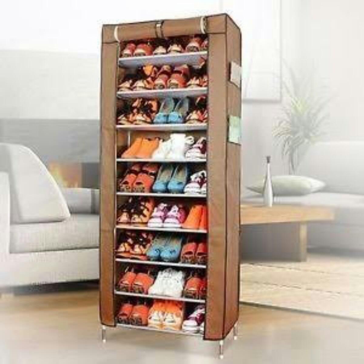 Mueble Porttil Para Zapatos Armario  Organizador De Tela