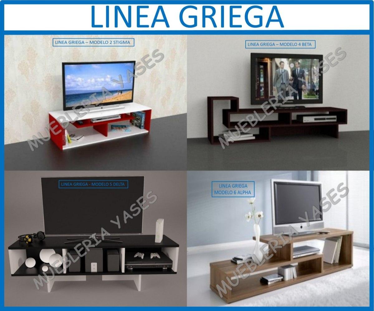 Mueble Sala Modulares Tv Moderno Entretenimiento Latina