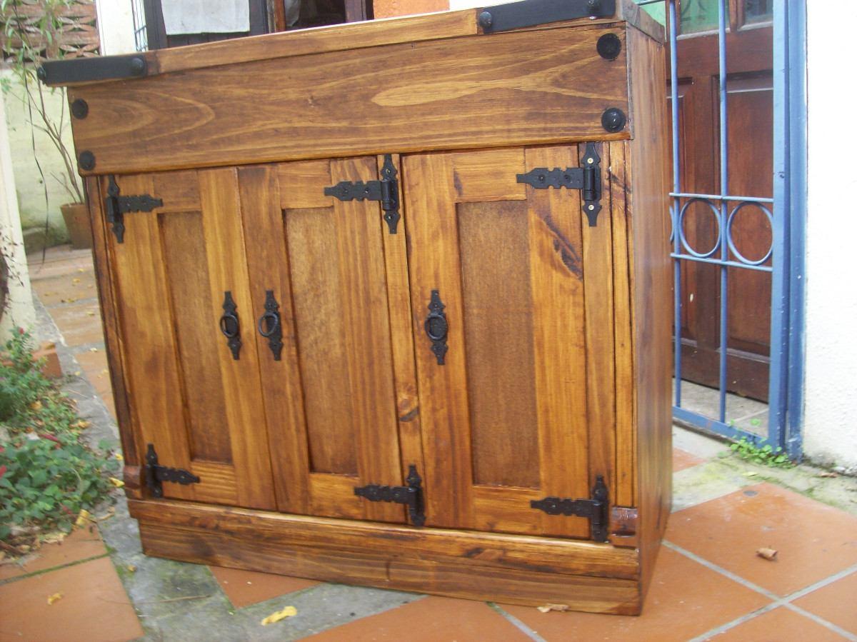 Mueble Cocina Rustico